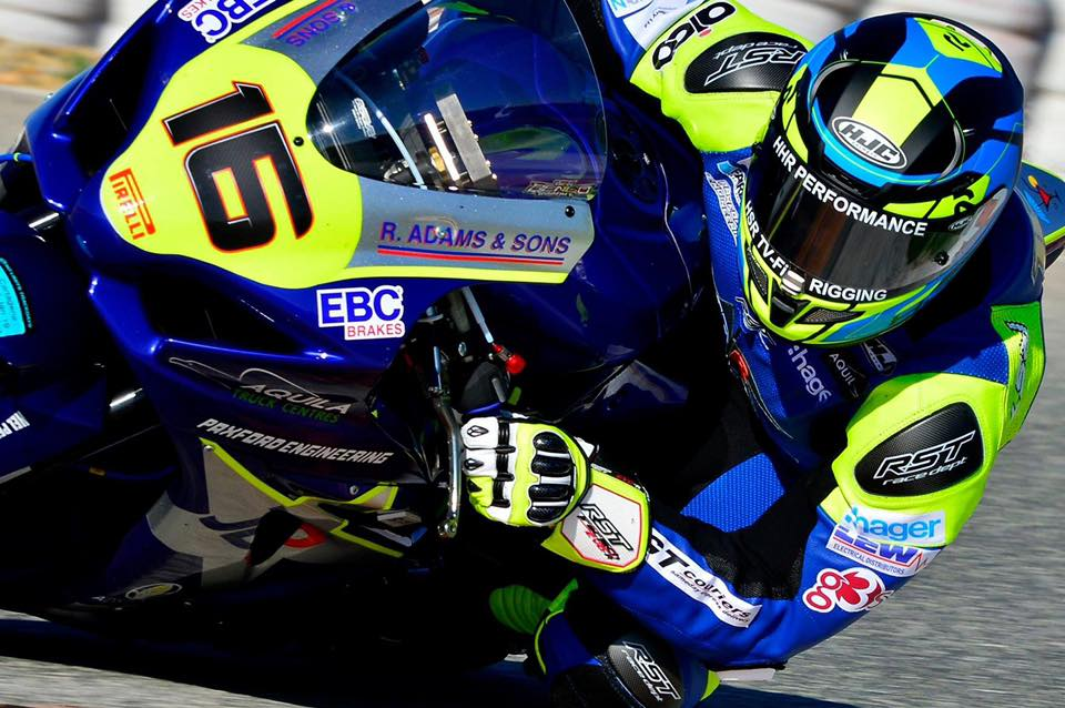 GT Couriers Support Local Racing Talent Ben Godfrey and JDR on Spanish Test Track