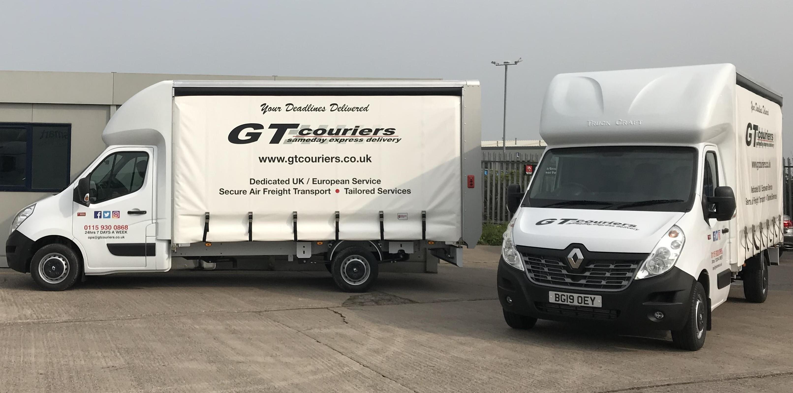 GT Add Two New Luton Vans to Fleet